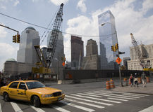 GROUND ZERO CONSTRUCTION SITE Royalty Free Stock Images