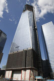 Ground Zero Freedom Tower. The National September 11 Memorial at the World Trade Center Royalty Free Stock Image