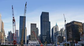 Ground Zero in New York Royalty Free Stock Photo