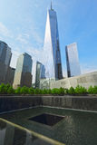 Ground zero, New York, U.S.A. Fotografie Stock Libere da Diritti