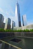Ground zero, New York, U.S.A. Fotografie Stock Libere da Diritti
