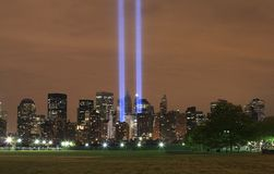 Ground zero from NJ Royalty Free Stock Images