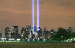 Ground zero from NJ Stock Images
