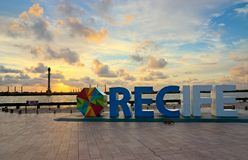 Ground Zero of Recife, Pernambuco, Brazil Stock Photo