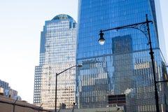 Ground zeroområde, New York Arkivbild