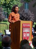 Groundbreaking Ceremony For Paul Robeson Plaza stock images