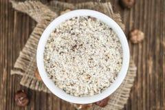 Grounded Hazelnuts Royalty Free Stock Image