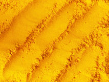 Grounded turmeric Royalty Free Stock Photography