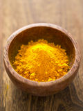 Grounded turmeric Royalty Free Stock Images