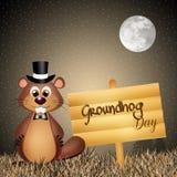 groundhog Lizenzfreies Stockbild