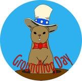 groundhog Imagens de Stock Royalty Free