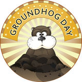 Groundhog Day Royalty Free Stock Images