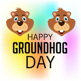 Groundhog Day Stock Image