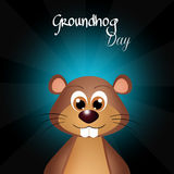 Groundhog day Royalty Free Stock Image