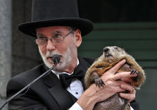 Groundhog Day, Raleigh Stock Image