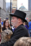 Groundhog Day, Raleigh Royalty Free Stock Photo