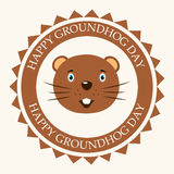 Groundhog Day Stock Image