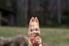 ` Groundhog de vista engraçado e bonito do ` de Groundhog no gramado Imagens de Stock Royalty Free