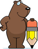Groundhog Pencil Royalty Free Stock Photo