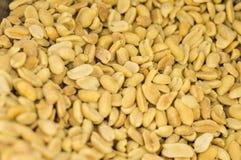 Groundnut, nut peeled. Royalty Free Stock Photos
