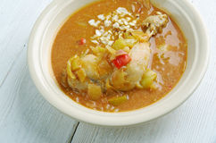 Groundnut Soup Royalty Free Stock Photography