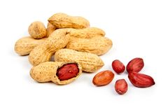 Groundnuts Royalty Free Stock Photos