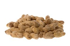 Groundnuts Isolated Stock Image