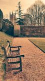 Grounds at canons ashby Stock Image