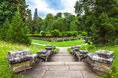 Grounds of Chatsworth House Royalty Free Stock Photo