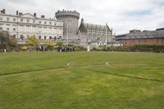 Grounds of Dublin Castle, Dublin city, County Dublin Stock Photos