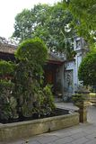 Grounds in Quan Thanh Temple. The grounds of the historic Quan Thanh Temple in the Ba Dinh district of Hanoi, Vietnam. The temple, also known as Tran Vo Temple Royalty Free Stock Images