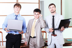 IT group Royalty Free Stock Photo