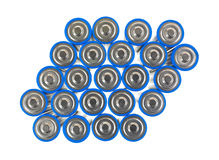 Group of AA batteries Royalty Free Stock Photography