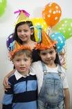 Group of adorable kids. Stock Photos