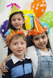 Group of adorable kids. Royalty Free Stock Image