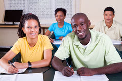 Group of adult students Royalty Free Stock Photography