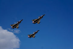 Group aerobatics aircraft Stock Photo
