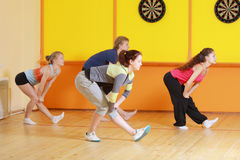 Group aerobics Stock Image