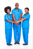 African medical team Royalty Free Stock Images