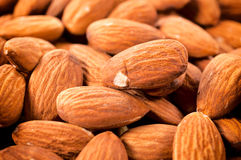 Group of almonds Royalty Free Stock Photos