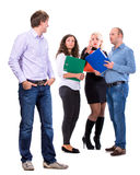 Group of angry business people Royalty Free Stock Photography
