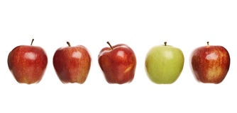 Group of apples Stock Photos