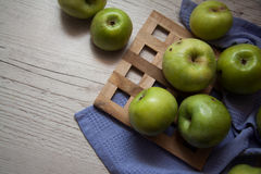 Group of apples Royalty Free Stock Images