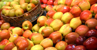 Group of apples Stock Images