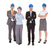 Group of architects Royalty Free Stock Images