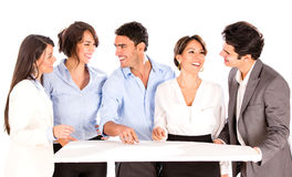 Group of architects Stock Photo