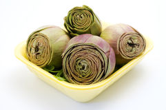 Group of artichokes Royalty Free Stock Images