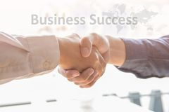 Group asia businessman together create a mutually beneficial business relationship. royalty free stock photos