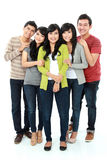 Group of asian friend Stock Image