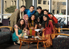 Group of Asian Students Royalty Free Stock Photography